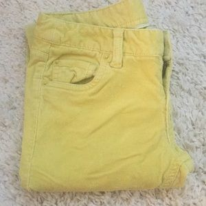 Mossimo Supply Co. Pants - NWOT yellow skinny corduroys
